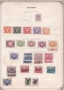 Pologne - Collection Vendue Page Par Page - Timbres Oblitérés / Neufs * Avec Charnière - B/TB - 1919-1939 Repubblica