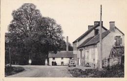 03 DOYET  CPA Email Laqué Théojac  Route  AUTOMOBILE Devant Le MOULIN Du PONT De BORD - Non Classés