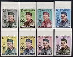 Afganistan 1962, Scouts, 8val IMPERF. - Afghanistan