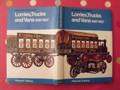 Lorries Trucks And Vans 1897-1927. Camions. Marshall Bishop. 1972 - Books, Magazines, Comics