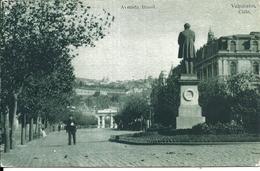 67795 CHILE VALPARAISO AVENIDA BRASIL & MONUMENTO POSTAL POSTCARD - Chile
