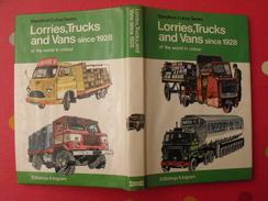 Lorries Trucks And Vans Since 1928. Camions Depuis 1928. Ingram Bishop. 1975. En Anglais. Blandford - Books, Magazines, Comics