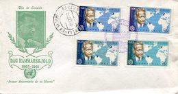 19411 Venezuela,  Fdc 1963  Anniversary Of Death  Dag  Hammarsljold, Nobel Prize,  Prix Nobel - Dag Hammarskjöld