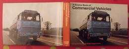 A Source Book Of Commercial Vehicles En Anglais. Camions. Miller Vanderveen 1972 - Books On Collecting