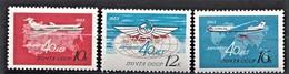RUSSIE RUSSIA  1963      Aéroflot     The Civil Air Fleet, 40th Anniversary