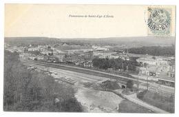 Cpa: 78 SAINT CYR L'ECOLE (ar. Versaille) Panorama  (La Gare) 1906 - St. Cyr L'Ecole
