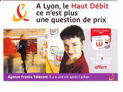 FRANCE TELECOM LYON Haut Débit, Magasin, Ed. Cartapub 2003 - Publicité