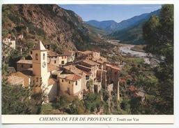 Touet Sur Var - Chemins De Fer De Provence (n°173 Nija Vierge) - Andere Gemeenten
