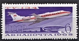 RUSSIE RUSSIA  1965       Avions    Tupolev 134