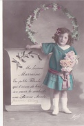 26173 Bonne Année Marraine Filleule - Enfant  Gui - Houx -éd Masel 476
