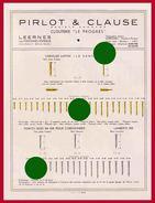 Leernes Fontaine-l'Évêque Clouterie Visserie PIRLOT & CLAUSE Vers 1930 - Reclame