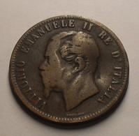 1862 - Italie - Italy - 10 CENTESIMI, (Paris), VITTORIO EMANUELE II, KM 11.2 - 1861-1878 : Victor Emmanuel II