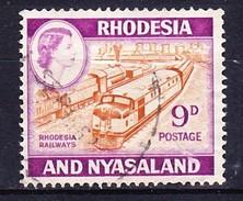RHODESIE NYASSALAND 1959-62 YT N° 25A, 28 Et 29 Obl. - Rhodesia & Nyasaland (1954-1963)