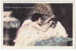 26176 Série  4 Cpa -couple Au Lit Femme Homme Amour Conjugal Sexe Lampe - Ed ? N° 5090 - Couples