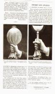 """PHYSIQUE SANS APPAREILS   """" La Conductabilité Des Metaux Pour La Chaleur """" 1887 - Non Classés"""