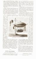"""JOUETS SCIENTIFIQUE """" LE PETIT BALLON DIRIGEABLE DE M. GRATIEN  """"    1887 - Autres Collections"""