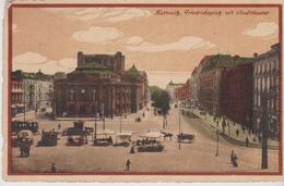 POLOGNE . KATTOWITZ . Friedrichsplatz Mit Stadttheater - Pologne