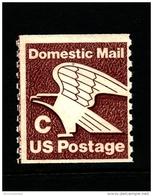 "UNITED STATES/USA - 1981  EAGLE  ""C""   COIL PERF. 10 VERT  MINT NH - Stati Uniti"