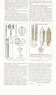 """ETUDES DE """" PYROTECHNIE """"  ( Artifices D'éclairage  )   1887 - Wissenschaft"""