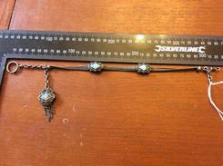 Chaine De Montre Gousset  émaillé Argent - Jewels & Clocks