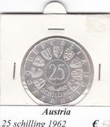AUSTRIA   25  SHILLING   1962  COME DA FOTO - Autriche