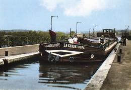 CPSMGF ( 18) LE GUETIN Le Pont Canal 1er Ecluse ( Batellerie LA GUADELOUPE) - Autres Communes