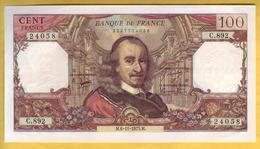 BILLET FRANCAIS - 100 Francs Corneille 6-11-1975 SUP+ - 100 F 1964-1979 ''Corneille''