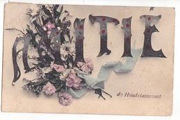 26181 HOUDELAINECOURT-amitié -bouquet De Fleur - Sans Ed - Autres Communes