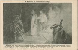 Episodes De L' Histoire De Bretagne. A Nantes  Sur La Place Du Bouffay, Exécution De 4 Gentilshommes Bretons - Altri Comuni