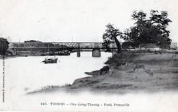 TONKIN - Chu-Lang-Thuong - Pont, Presqu'île - Viêt-Nam