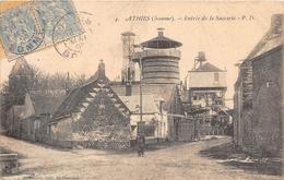 80. ATHIES.  ENTREE DE LA SUCRERIE.  BEAU PLAN.  1905 - France
