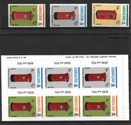 Gibraltar 1974 Centenary Of UPU Complete Set MNH Plus Booklet Pane (4928) - Gibraltar