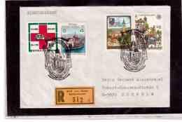 TEM9109   -   LINZ 26.4.89  / REGISTERED COVER WITH INTERESTING POSTAGE -  250. TODESTAG BAROCKMEISTER PRUNNER - Briefmarken