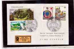 TEM9131 -   WIEN 9.11.88  / REGISTERED COVER WITH INTERESTING POSTAGE - - 1981-90 Covers