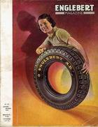 ENGLEBERT MAGAZINE N°173 JANVIER-FEVRIER 1938 - Numéro Spécial SALON AUTO-MOTO-CAMION De BRUXELLES & D'AMSTERDAM - Auto