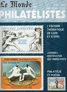 """9 NUMEROS DE """"LE MONDE DES PHILATELISTES"""" N° 362 - 381 - 383 - 384 - 388 - 389 - 390 - 391 Et 398 - Français (àpd. 1941)"""