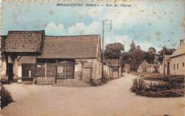 80 - SOMME / Bellancourt - Rue De L'église - Défaut (tâches) - Francia