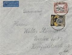 Tanganyika Lettre Pour L'Allemagne 1936 - Kenya, Uganda & Tanganyika