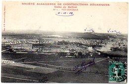 CPA 90 ( Territoire De Belfort ) -  Usines De BELFORT- Vue Générale - Société Alsacienne De Constructions Mécaniques - Belfort - Ville