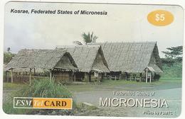 MICRONESIA - Kosrae, FSM Tel Prepaid Card $5, Used - Micronesia