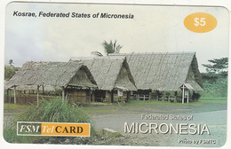 MICRONESIA - Kosrae, FSM Tel Prepaid Card $5, Used