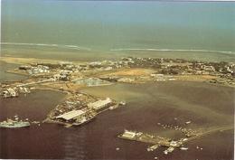 CP Djibouti Vue Aérienne Du Port Afrique - Gibuti