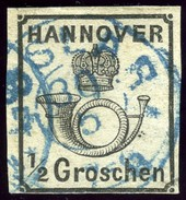 Hannover. Scott #18. Michel #17y. Used, No Faults. - Hanover