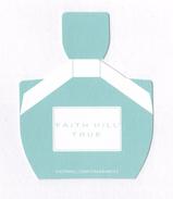 Cartes Parfumées Carte FAITH HILL TRUE - Perfume Cards