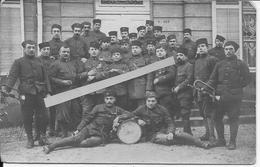 1917 Fanfare La Clique Du 2ème Régiment De Zouaves Musique 1 Carte Photo 14-18 Ww1 1wk - War, Military