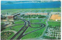 HZ318     Brasil - Rio De Janeiro - Airport, Aeroporto Santos Dumont Com Trevo Dos  Estudantes - Aerodromes