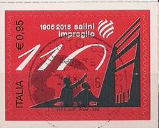 2016 Italien Mi. 3937 Used   110 Jahre Salini-Impregilo-Gruppe - 2011-...: Usati