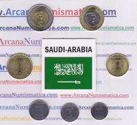 ARABIA SAUDI   Set 7 Monedas  2.016 2016 H. 1438   SIN CIRCULAR  T-DL-12.047 - Arabia Saudita