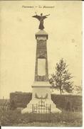 Plainevaux -- Le  Monument.   ( 2 Scans )  4 Timbres - Neupré