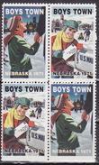 USA 1971  BOYS TOWN NEBRASKA Vignette Cinderella Charity Seals Seal Poster Stamp Label - United States